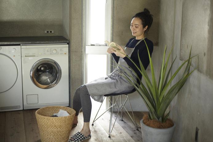 洗濯機にお任せすれば、時間の有効活用にも♪