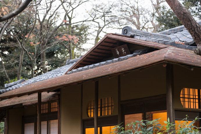東京都庭園美術館 茶室「光華」