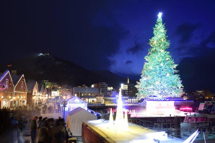 海に浮かぶツリー!!~函館の「クリスマスファンタジー」
