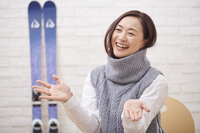 [上村愛子さん×ハピスノ編集長]この冬、スキー場に行ってみませんか?(前編)