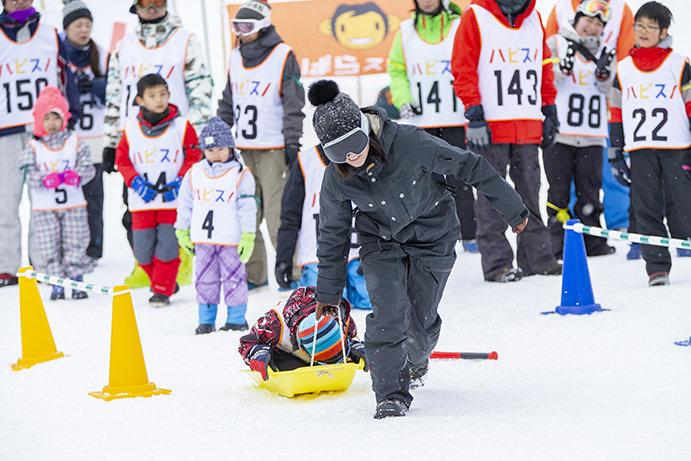 久しぶりに「雪って楽しい」と感じた雪上運動会