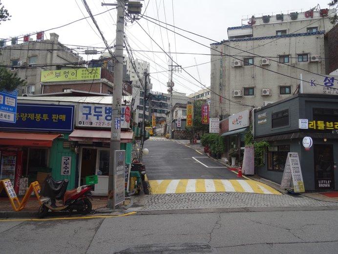 舞台は、ソウルのダウンタウン