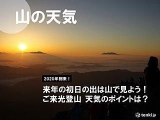 初日の出は山頂から見たい!ご来光登山を成功させるポイント