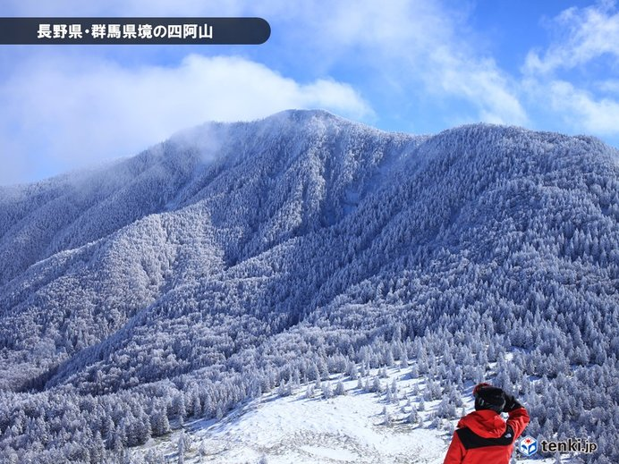 天気から見る冬山の魅力と危険性