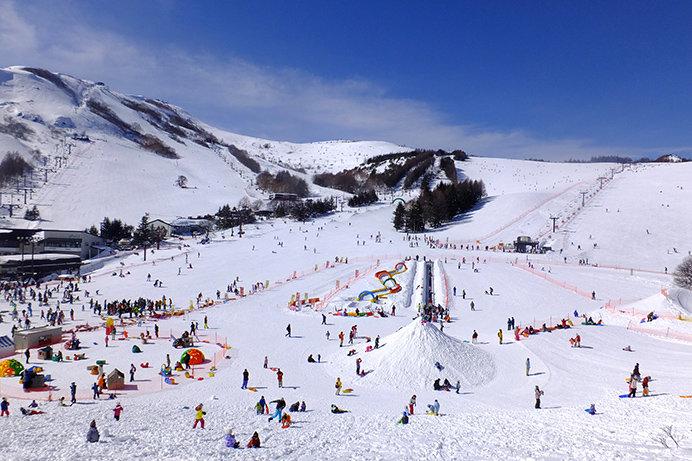 今シーズンも最新の人工降雪機を増設! 車山高原SKYPARKスキー場(長野)