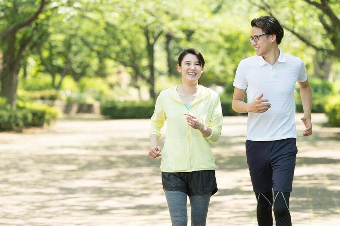 春は気温も高くて、走り出すのに最適な季節です