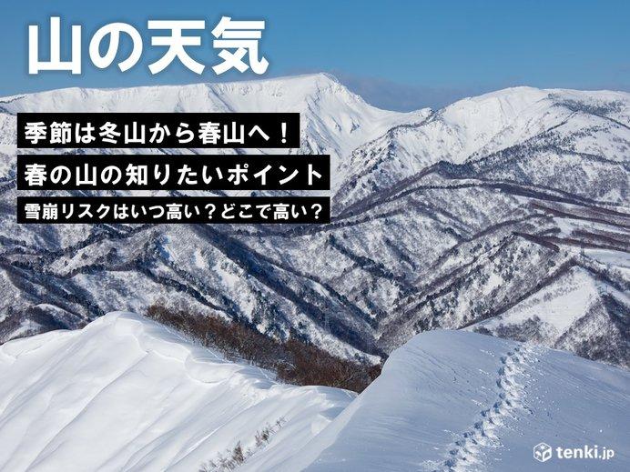 入山しやすくなる残雪期の「雪崩リスク」を考えよう