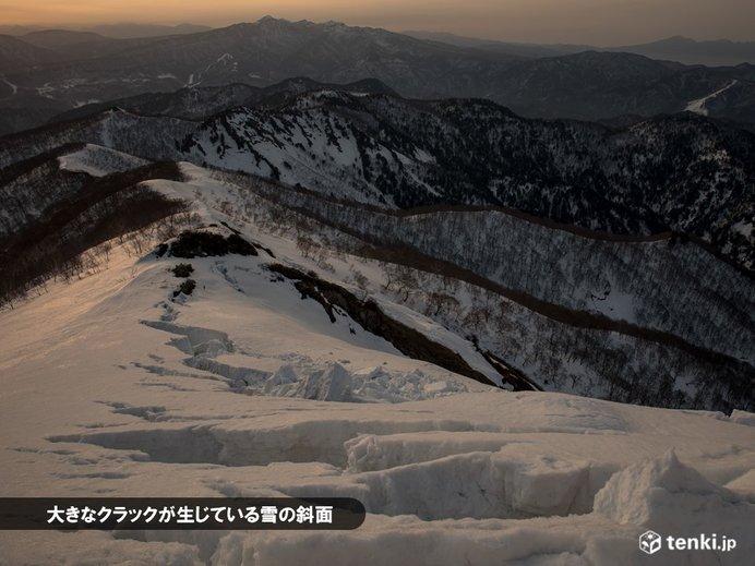 雪崩リスクが高まる条件