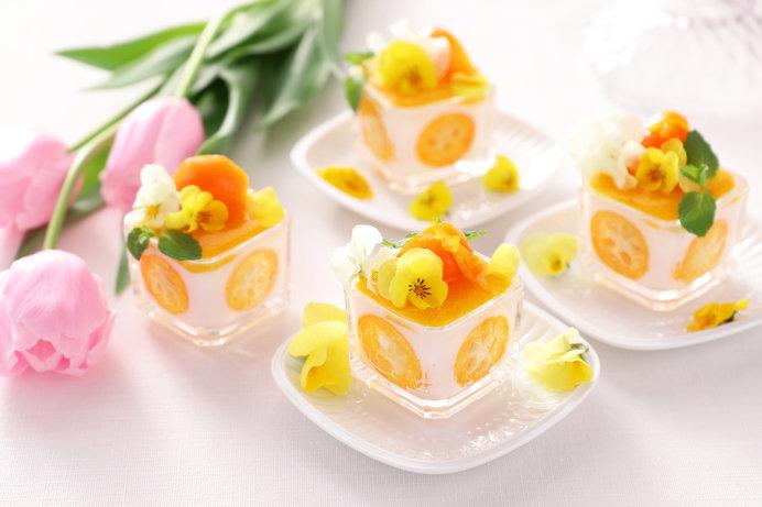 柑橘類やエディブルフラワーもよいですね