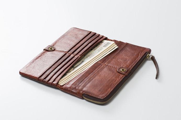 紙幣とともに生まれた長財布