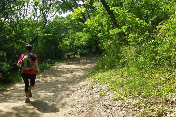 アップダウンが少ない里山なら気持ちよく走れます
