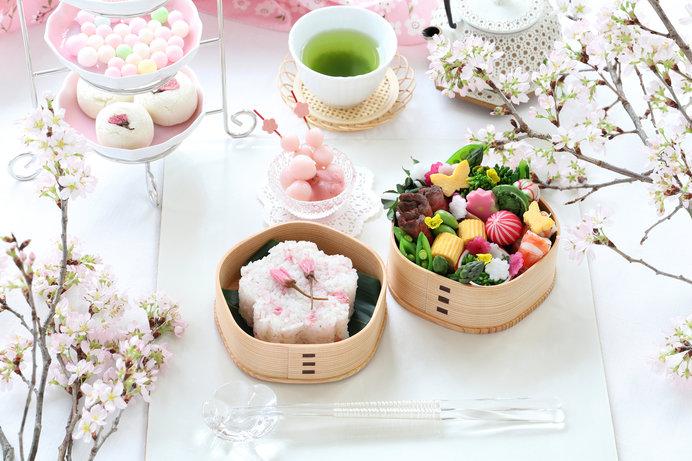桜餅、花見団子、桜茶…。桜にまつわる食べ物のお話