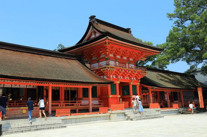 全国に四万社以上あるといわれる八幡神社の総本宮・宇佐神宮