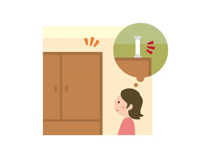 おうち時間を使って、家具の場所や収納、固定の仕方を見直す