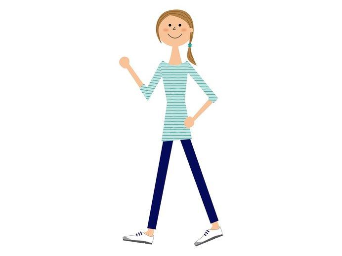 外出自粛中の健康維持のため、避難所まで歩いてみる