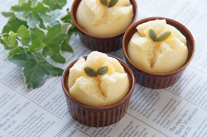 ホットケーキミックス活用レシピ 2. シンプル蒸しパン