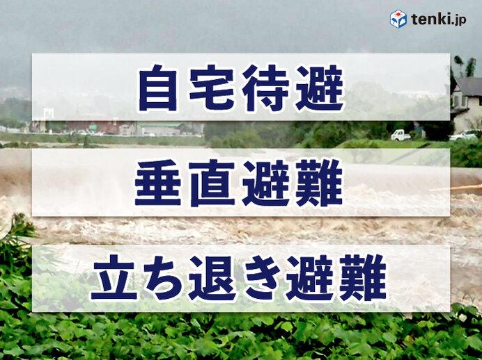 新型コロナと自然災害 今こそ確認しておきたい避難方法(第2弾)~自宅待避・垂直避難編~