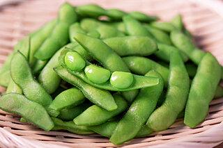 「枝豆」が成長すると何になる?答えは「大豆」です