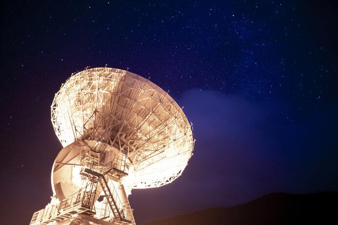VERA 電波望遠鏡 石垣島