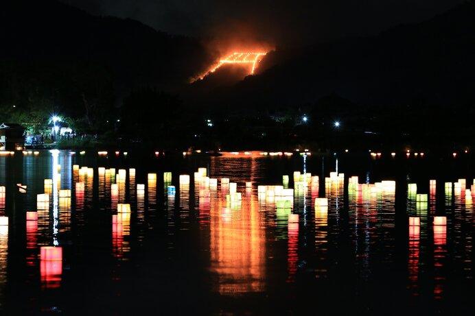 京都五山の送り火 鳥居