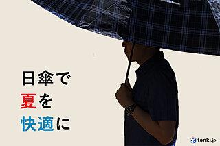 熱中症の予防にも?!今年の夏は日傘で快適に