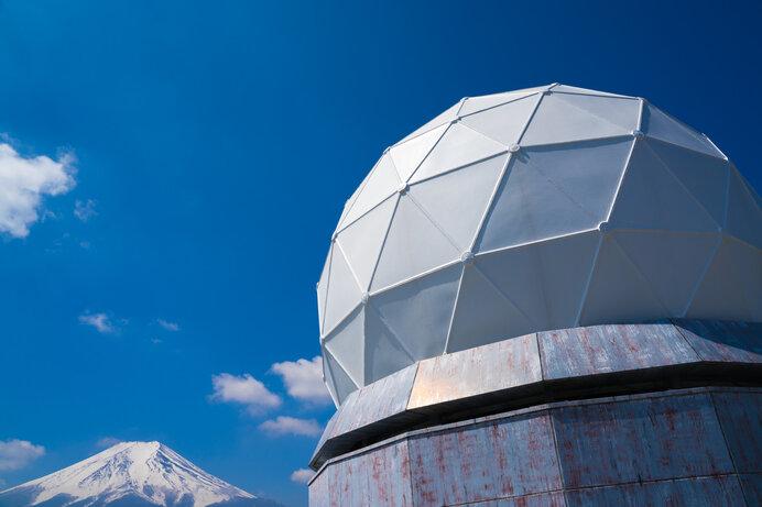 富士山で気象観測により気象予報の精度が上がりました