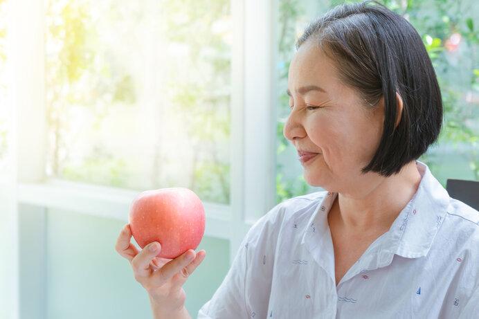 やっぱりリンゴは「ふじ」がおいしい。