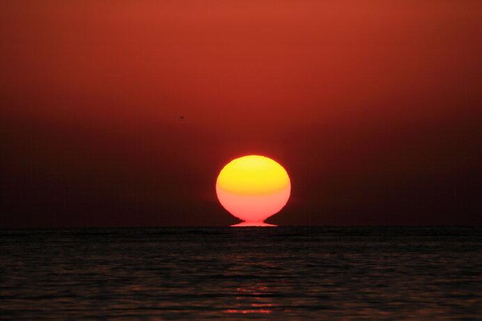 冬至を境に太陽はよみがえり、再び南から近づいてきます