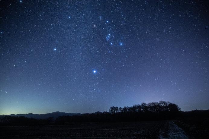 冬の夜空はとってもゴージャス☆