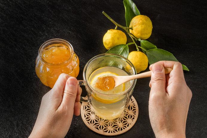 ゆずを楽しむレシピ1. 使い勝手がいい『ゆず茶』