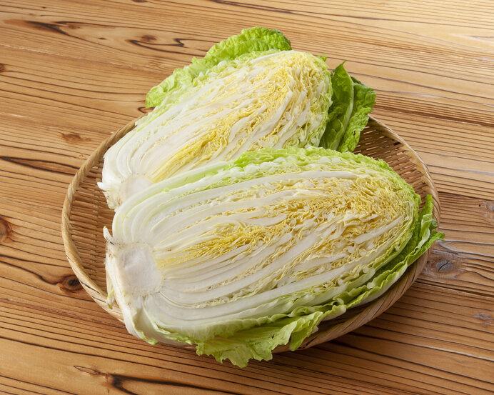 冬の時期になると甘くて美味しい白菜!