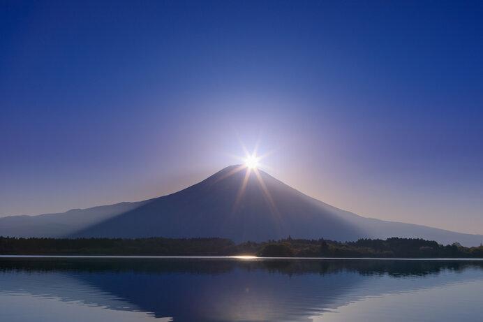 朝日のダイヤモンド富士