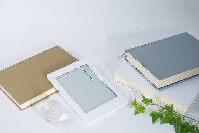 専用端末ではなくスマートフォンやタブレットでも電子書籍を読むことができます