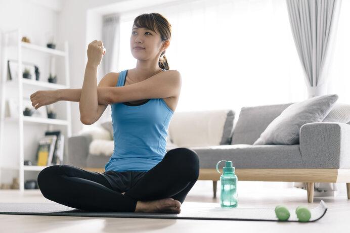 テレワークでは「運動も仕事」と考えて積極的に体を動かしましょう