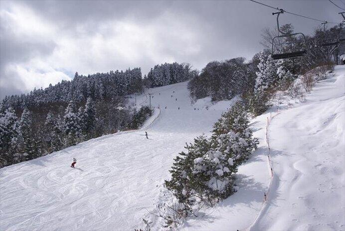 ICから2km!ロングコースが大人気/女鹿平温泉 めがひらスキー場(広島県廿日市)