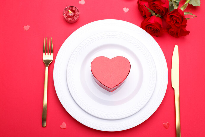愛情たっぷりの料理で素敵なバレンタインを過ごそう。