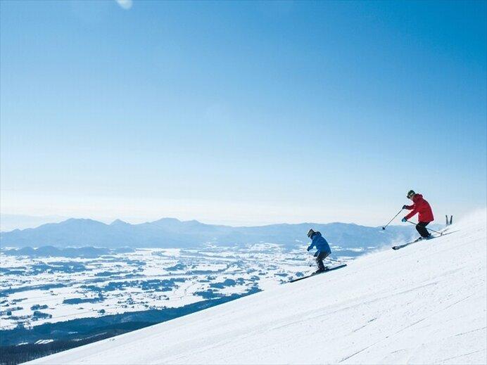 おとなもこどもも存分に!上質を楽しむ雪遊びパラダイス/雫石スキー場(岩手県岩手郡)