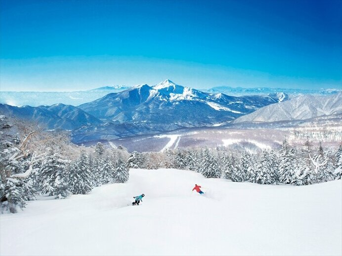 神雪を満喫!ビギナーも楽しい絶景ロングコース/グランデコスノーリゾート(福島県耶麻郡)