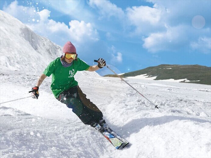 月山夏スキー場(山形県)
