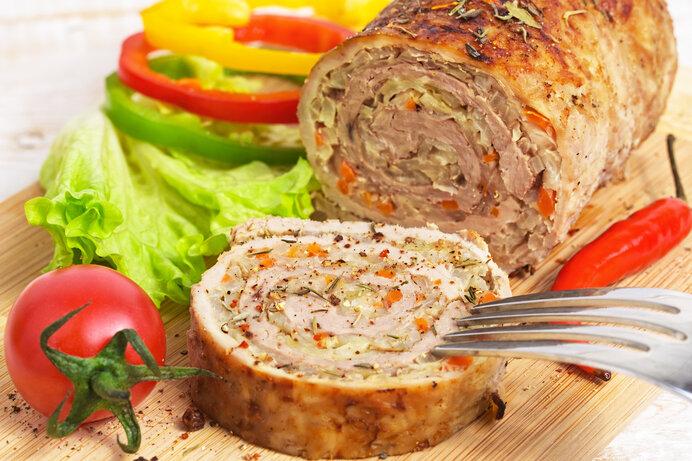 メイン料理は子供が大好きなお肉で決まり。