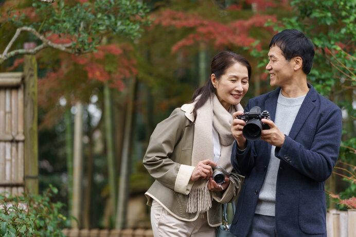カメラを片手に散歩すれば健康維持にも役立ちます