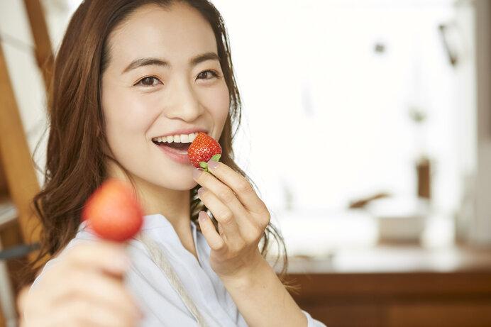 甘酸っぱくて美味しいいちご。あなたもおひとついかが?