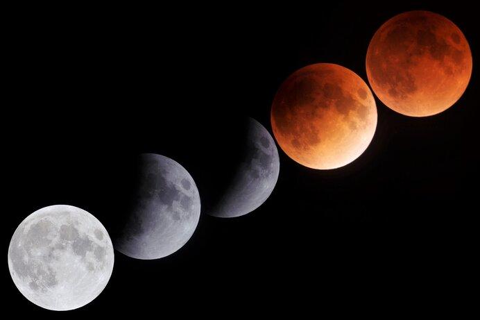 スーパームーンで皆既月食!次回は12年後