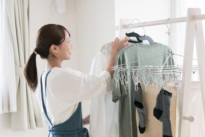 洗濯物を部屋干ししても臭いが気にならないように洗濯機をメンテナンスしよう