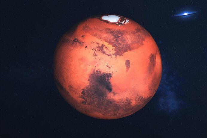 火星/赤い岩、青い夕焼け、衛星ツアー!時間の流れが地球と似ている星