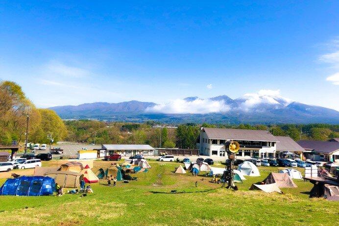 「パラダキャンプ場」(長野・佐久市)近くてお手軽キャンプにおすすめ!