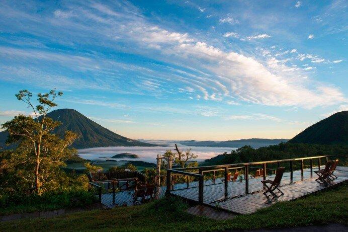 ルスツリゾート「羊蹄パノラマテラス」蝦夷富士 羊蹄山や洞爺湖を一望する絶景スポット
