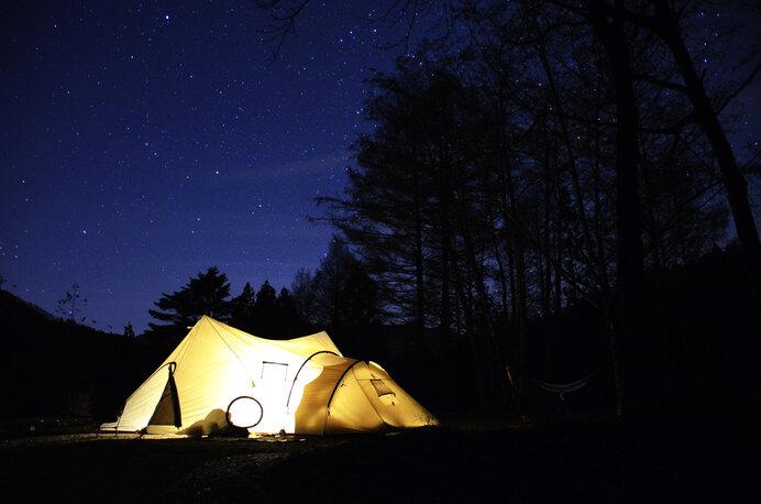 何もないキャンプ場にも魅力があります