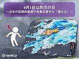 9月1日は防災の日 近年の記録的豪雨や気象災害から「備える」