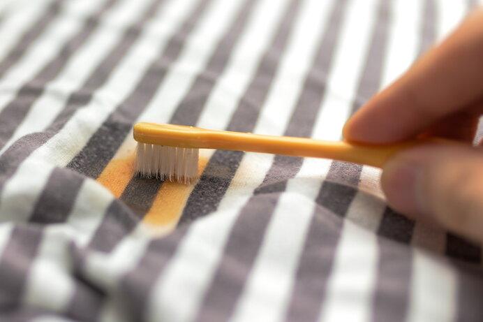 服の泥汚れを洗濯機できれいに落とすコツ